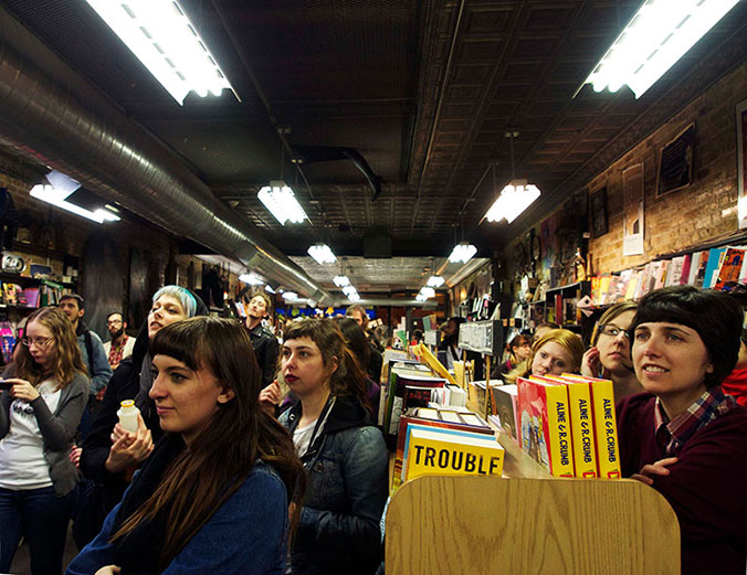 Chicago Zine Fest, Zine, Lose or Draw game show at Quimby's