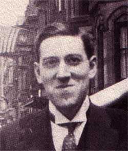 H.P. Lovecraft, author.