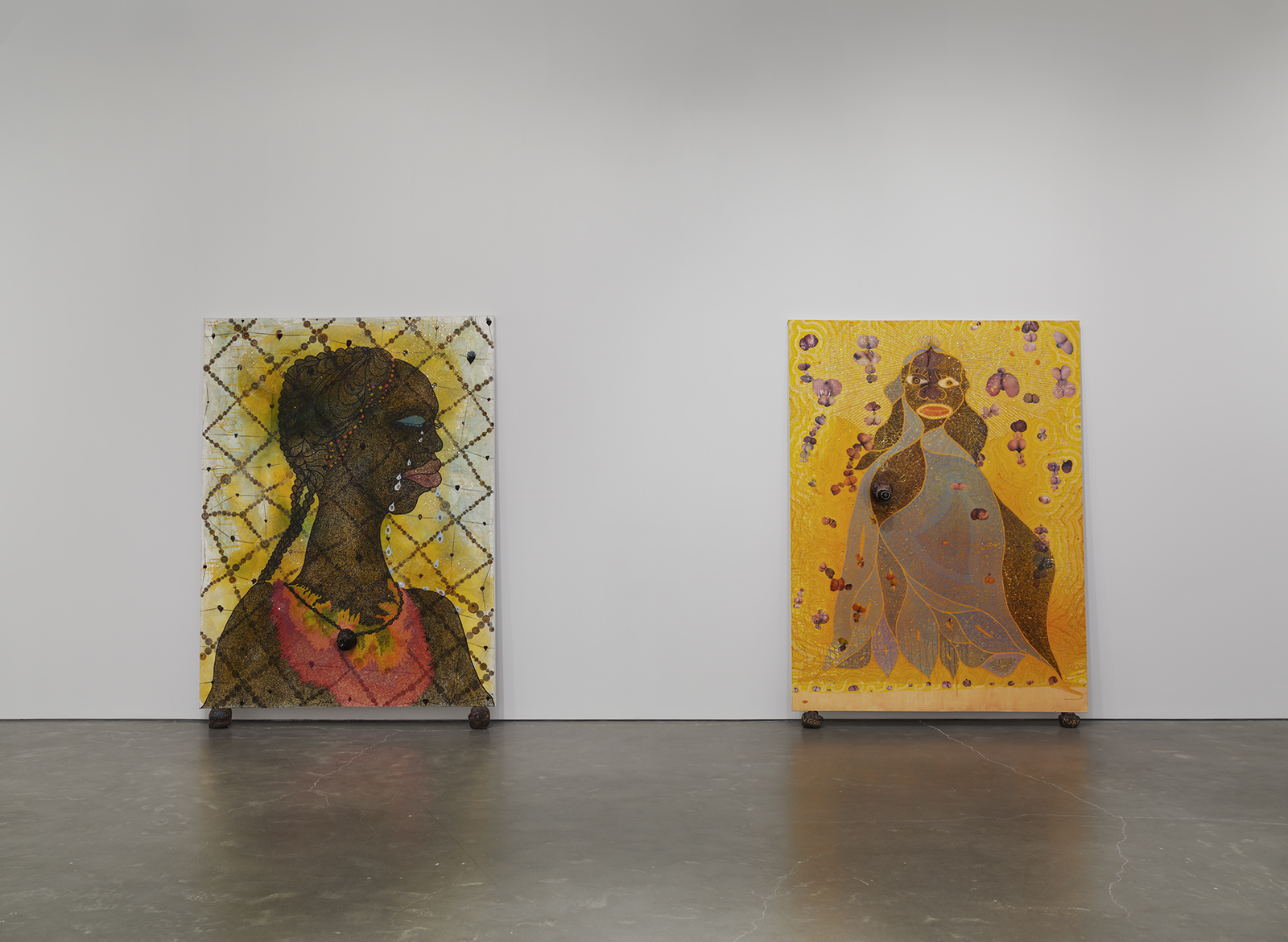 Photo by Maris Hutchinson/EPW All artworks © Chris Ofili. Courtesy David Zwirner, New York/London