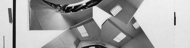 Gordon Matta-Clark, artist's paste-up for MCA Circus catalogue (detail), 1978, collection Museum of Contemporary Art, Chicago, gift of the artist. © Estate of Gordon Matta-Clark.