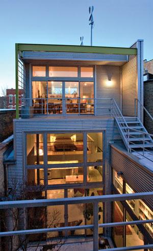 Exterior of Frances Whitehead and Jim Elniski's home; Photos courtesy of Michelle Latvin