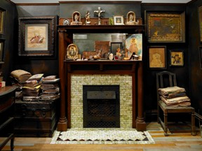 The Henry Darger room at Intuit: The Center for Intuitive and Outsider Art. Image courtesy of Intuit.