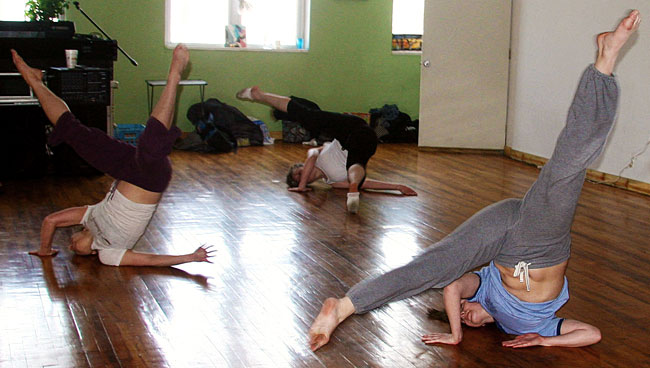 Laboratory Dancers during their Sunday dance class at Rumble Arts Center, 12:00 to 2:00 p.m.  Photos by Marie Socha