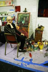 Bobby Verran celebrates his birthday at Arts of Life. Photographs by Ya-Chi Hsu
