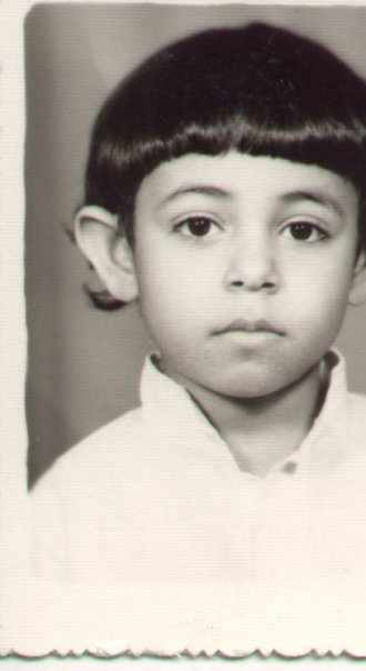 Ahmed Seddik as a child