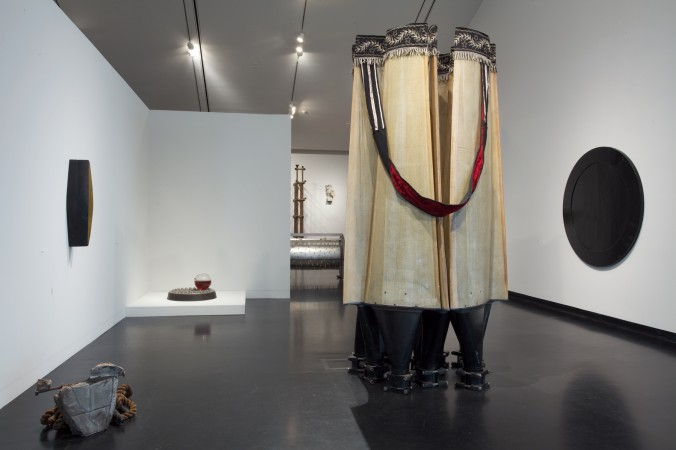 Terry Adkins Recital, installation view, The Frances Young Tang Teaching Museum and Art Gallery at Skidmore College, 2012.