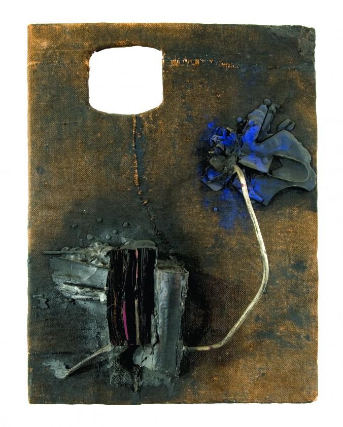 John Latham, Untitled, August 1958. Richard Saltoun, London.
