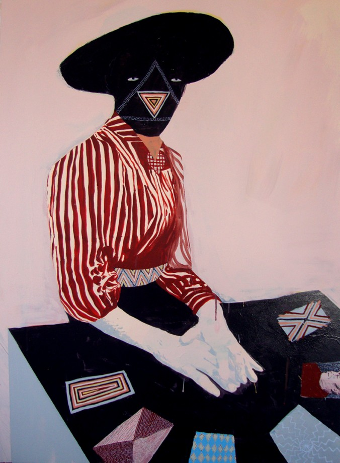 "Andrew Mazorol and Tynan Kerr, ""Fortune Teller."" Images courtesy of the gallery."