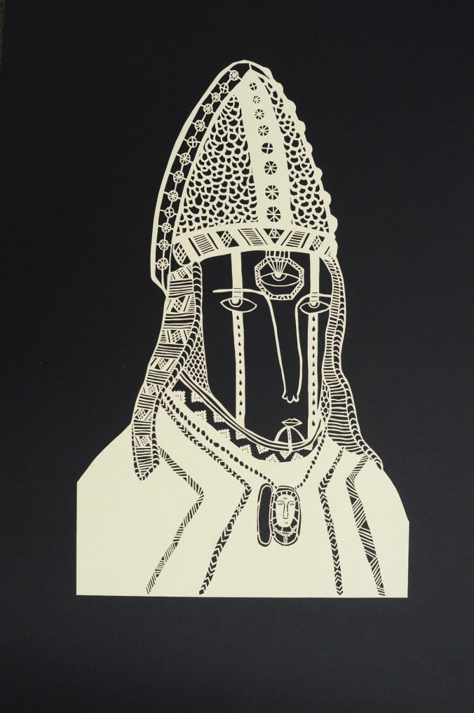 "Christopher Saint Christopher, ""Untitled."""