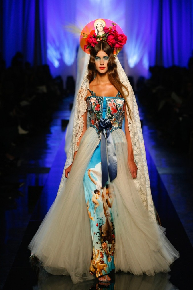 Les Vierges [Virgins] collection, Apparitions dress Haute couture spring/summer 2007 © Patrice Stable/Jean Paul Gaultier Collection.