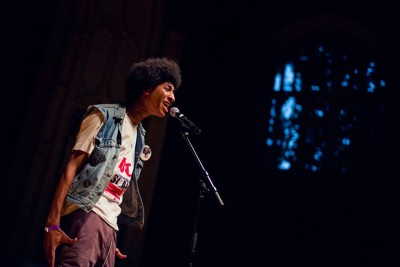 Kosi Dunn at the BNV Finals. Photo by Daniel Sawyer Schaefer.
