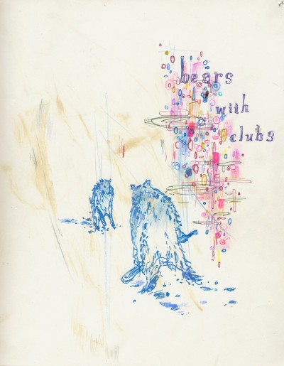 Bears with Clubs, Duncan R. Anderson