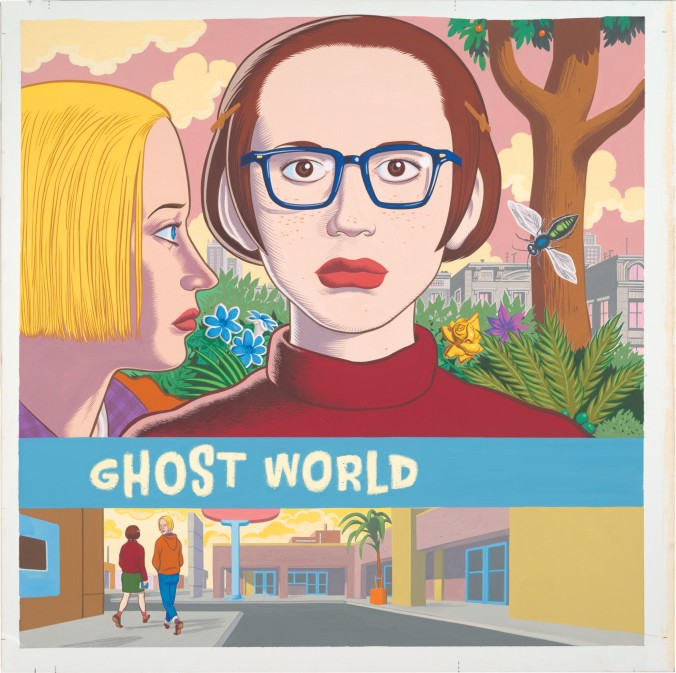 Daniel Clowes, Ghost World (cover), 1997. Collection of Daniel Clowes. Image courtesy of the artist and Oakland Museum of California