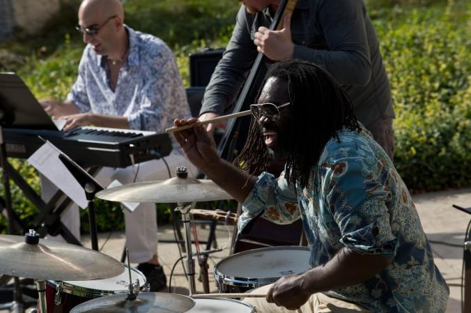 Musician Dana Hall. Photograph by Marc Monaghan.