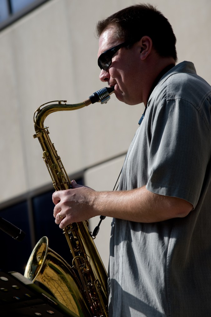 Musician John Wojciechowski. Photograph by Marc Monaghan.