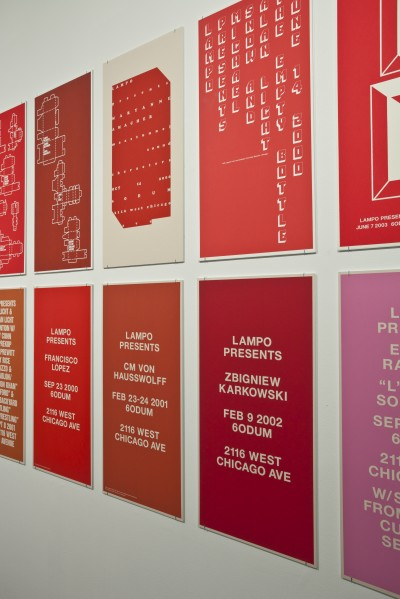 Reading Lampo at the Post Family Gallery, on view until January 17.