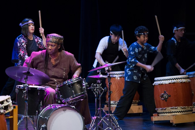 Tsukasa Taiko: Taiko Legacy 10. Photo: Ken Carl, courtesy of Museum of Contemporary Art, Chicago