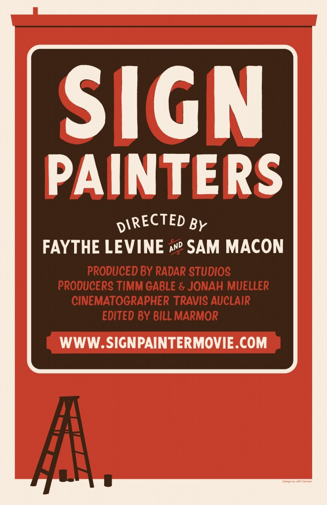 Poster for Sign Painters documentary