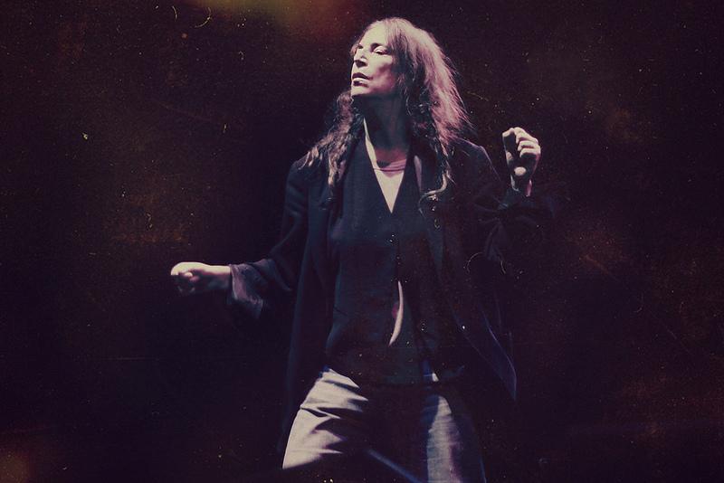 Patti Smith. photo via flickr user Claudia Cosentino