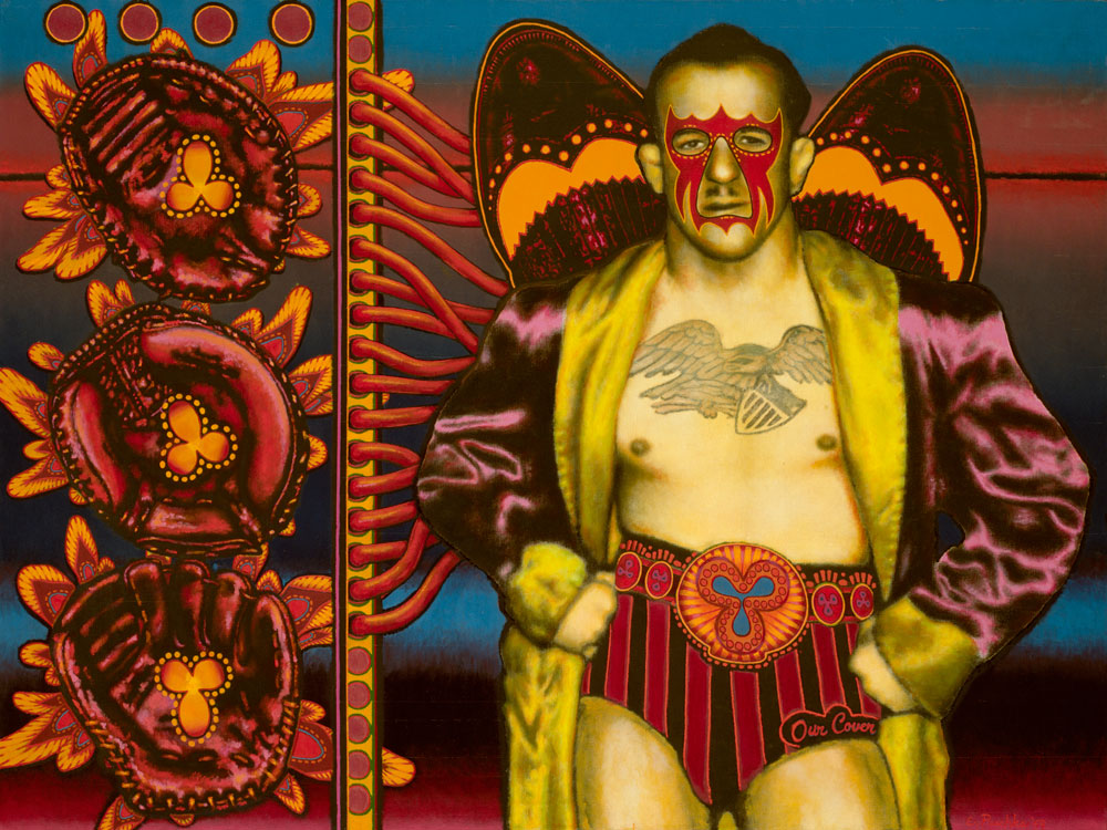 Ed Paschke, Mid American, 1969. Image courtesy of the Art Institute of Chicago.