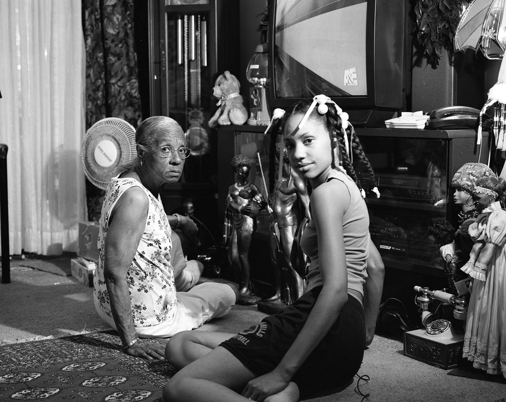 LaToya Ruby Frazier, Grandma Ruby and Me, (2005). Image courtesy of LaToya Ruby Frazier.