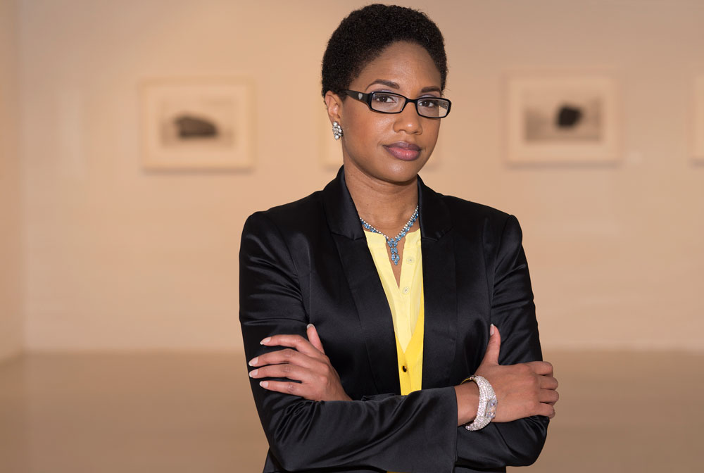 LaToya Ruby Frazier. Photography by Aubrey J. Kauffman.