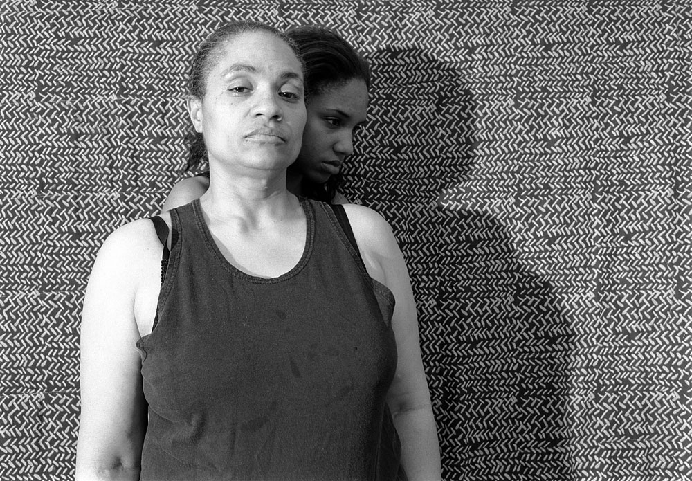 LaToya Ruby Frazier, Momme Portrait Series (Shadow) (2008). Image courtesy of LaToya Ruby Frazier.