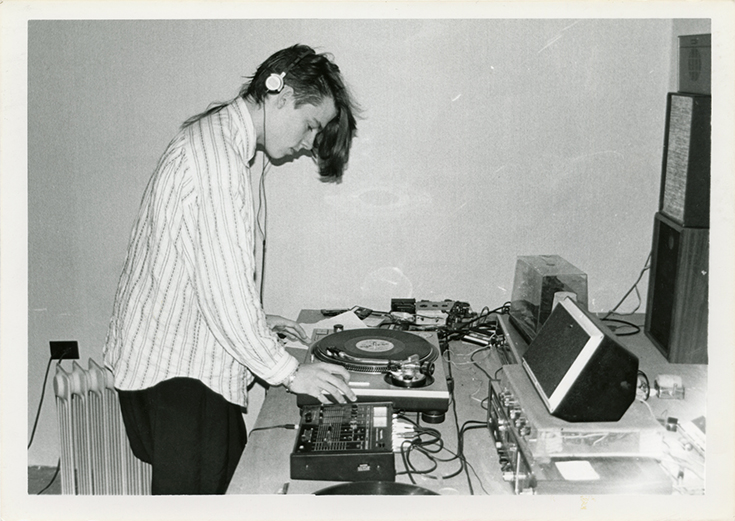 Michael Schmelling, Untitled (DJ), 1990/2014
