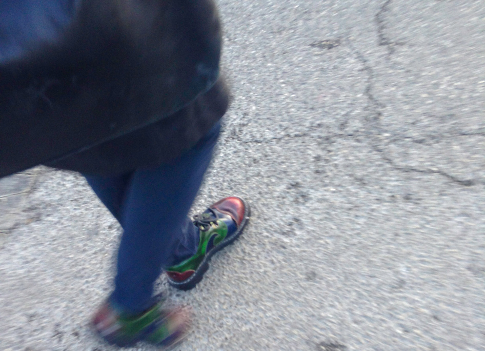 bright-shoes-pedestrian-on-the-street