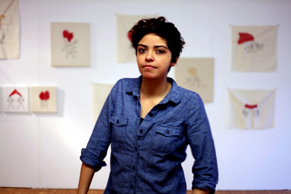 Elnaz Javani. Photograph by Kamran Heydari.