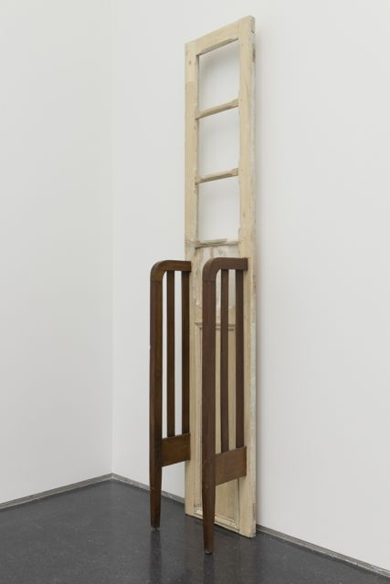 Doris Salcedo, La Casa Viuda IV, 1994. Museum of Modern Art, New York, Committee on Painting and Sculpture Funds, Latin American and Caribbean Fund, and gift of Patricia Phelps de Cisneros. Photo: Nathan Keay, © MCA Chicago.