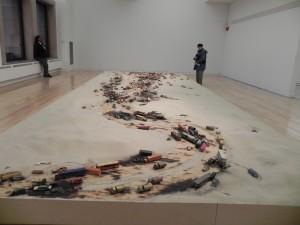 Alison Ruttan, Line in the Sand.