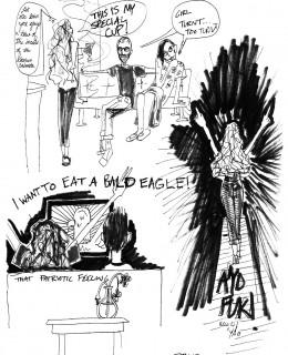 Comic by Brandy Drose