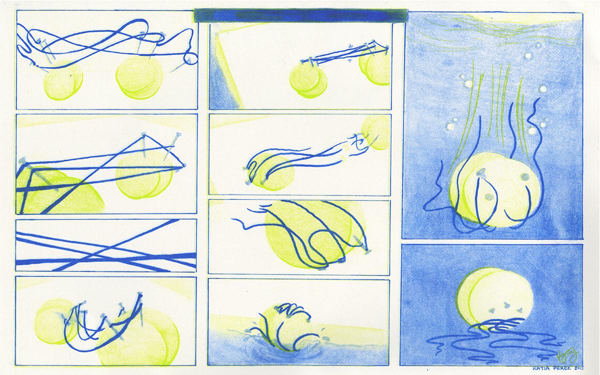 Comic by Katia Perez