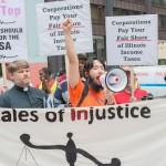 Protestors Chanting - Photo Courtesy of Yubo Dong