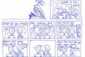 Comic by Riley Sakkaris