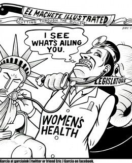 Comic by Eric J. Garcia.