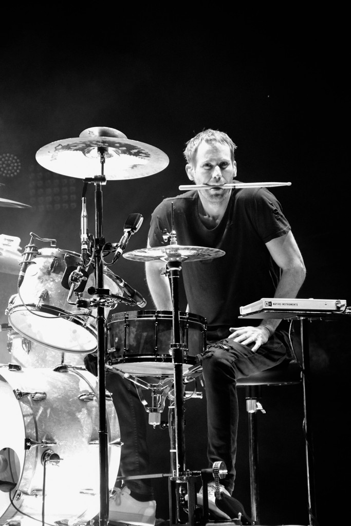 Drummer Brad Hargreaves, Third Eye Blind