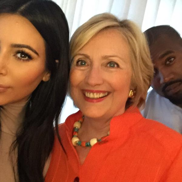 hillary clinton and kim kardashian