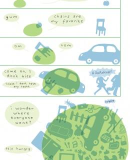 A comic by Regina Hu
