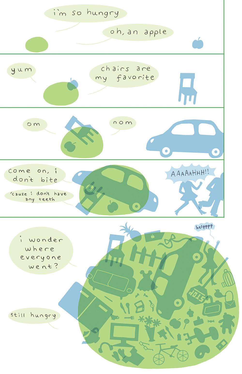 Comic by Regina Hu