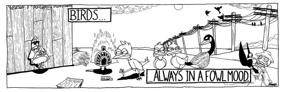 A comic by A.J. Horner