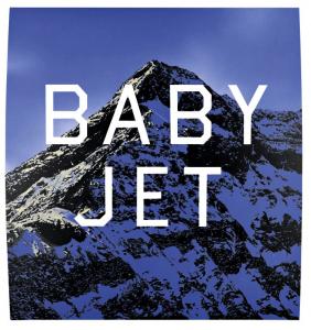 Ed Ruscha, Baby Jet, 1998, acrylic on canvas, 38 x 36 inches | via edruscha.com