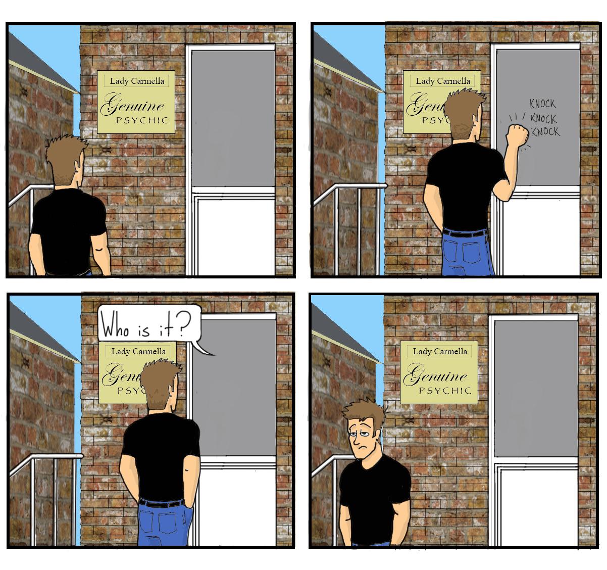 A comic by AJ Horner