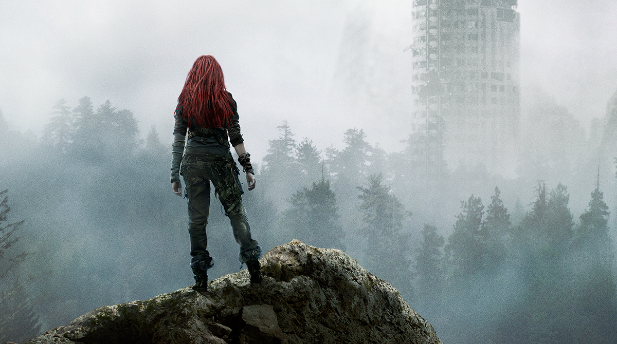 Standing on the ruins of the patriarchy. Image courtesy of the CW.