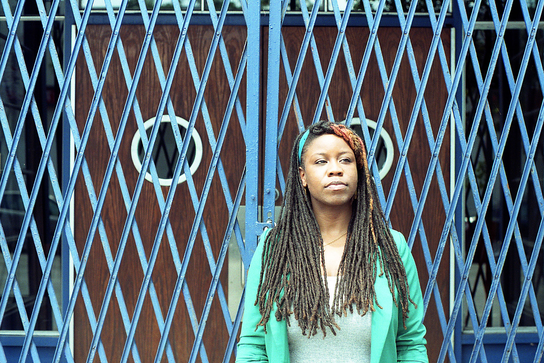 Poet Aricka Foreman. Photograph courtesy of the poet.