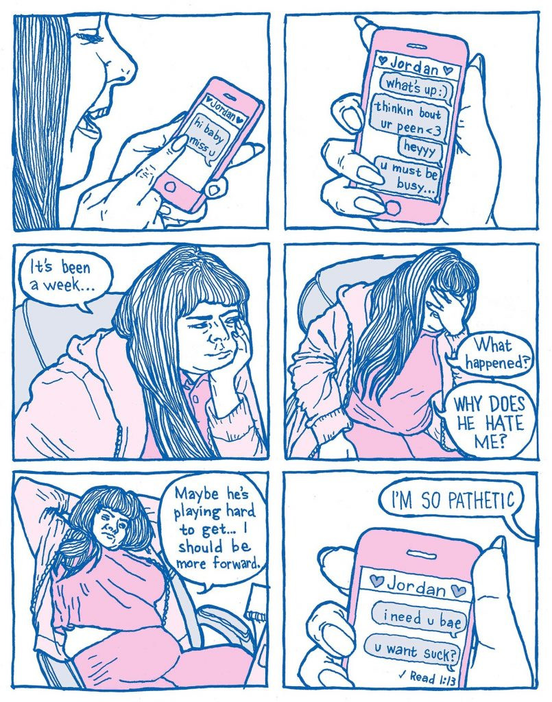 Comic by Gina Wyndbrandt. Published with permission from the author.